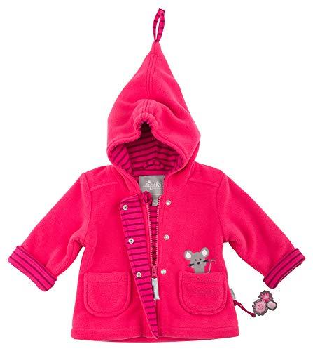 Sigikid Mädchen Fleece, Baby Jacke, Rot (Raspberry Sorbet 678), 62