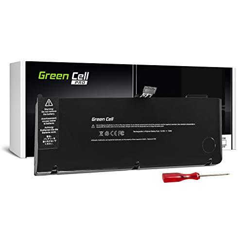 GC® Pro Serie A1382 Batería para Apple MacBook Pro 15 A1286 (Early 2011, Late 2011, Mid 2012) (6700mAh 10.95V Negro)