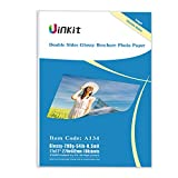 Cardstock Double Sided Glossy Photo Paper - Uinkit 100 Sheets 11x17 Inches 9.5Mil 200g For Inkjet Printing Only