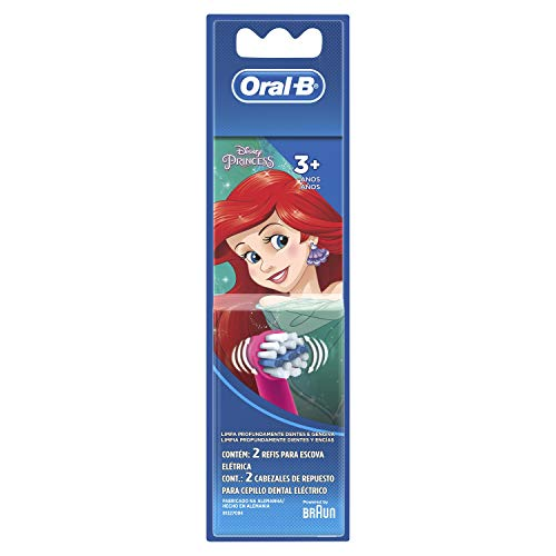 Refil para Escova Elétrica Oral-B Disney Princess - 2 Unidades, Oral-B