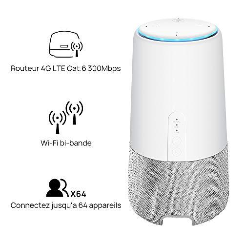 Huawei AI Cube – Lautsprecher und Router, 4 G, kompatibel mit Alexa - 2