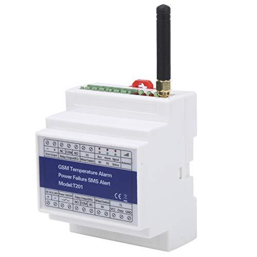 Detector de temperatura, alarma de temperatura electrónica, sistema de automatización de informes de temporizador DC 9V-24V para el hogar al aire libre