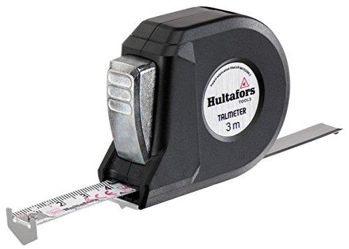Hultafors Talmeter 3M - Flexómetro clase II de 3 m x 16 mm para medición y marcaje
