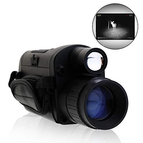 KKmoon Visión nocturna Osciloscopio digital camara nocturna wifi Alcance infrarrojo monocular de la...