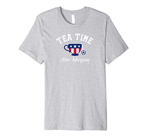 Officially Licensed Alex Morgan - Tea Time Premium T-Shirt