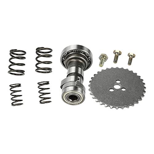 RONGSHU Nockenwellen-Set für Motorräder/Rennmotoren, passend für YX140 YX 140CC (Farbe: Silber)