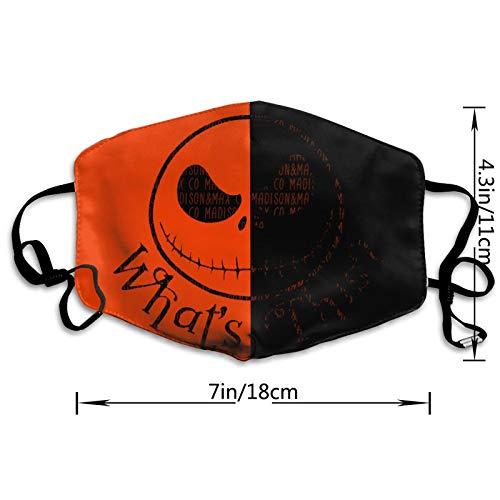 The Nightmare Printing Before Christmas Mask Comfortable Breathable Balaclava Washable Reusable Jack