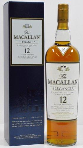 Macallan Elegancia 12 Jahre 1,0 Liter 40%vol.