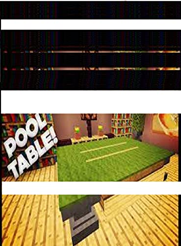 Minecraft- How to make a pool table, Incredible Comics for Teens & Family book with Minecraft-Actions ... for Kids (English Edition)