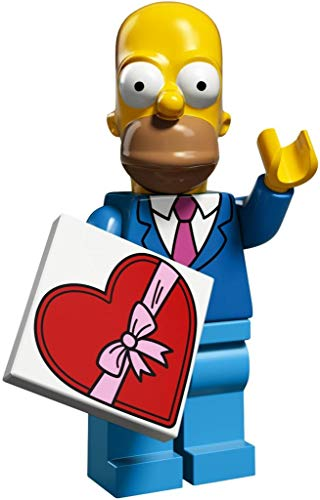 LEGO The Simpsons Series 2 Collectible Minifigure 71009 - Homer Simpson (Best Suit and Tie) by LEGO