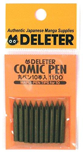 デリーター 丸ペン (10本入)