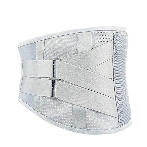 QHGao Almohadilla Lumbar Cinturón Lumbar Ajustable De Doble Tirón para Aliviar El Dolor De Disco Deslizado Y Prevenir Lesiones En La Artritis, Transpirable para Todas Las Estaciones,XL