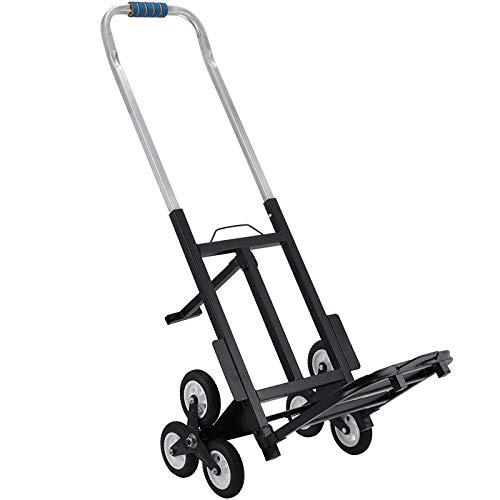 Mophorn Chriot Monte-Escalier 100kg Aide...