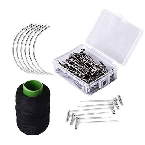 SEIKEA Wig Making Kit C Needles and Thread T Pins
