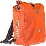 Serie Rohtar Allround - Mochila para Bicicleta - Mochila - Bolso de Viaje - El Bolso de Viaje Ideal para Ciclistas - Correas y Ganchos Ocultos y Tejido de PVC Totalmente Impermeable - Rojo