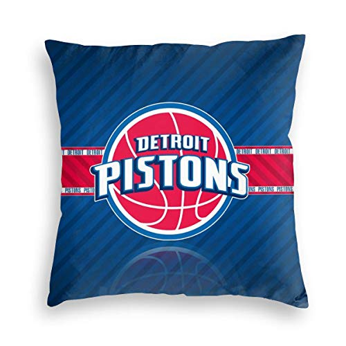 Detroit Throw Pillow Covers Basketball Home Life Sofa Car Decorative Office Bedroom Velvet Pillowcase 16x16 18x18 20x20 24x24 Inch