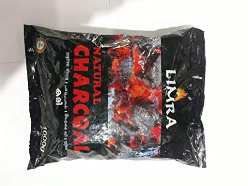 woodcharc - Wood Charcoal for Barbeque, tandoor and Other Kitchen uses(1kg)