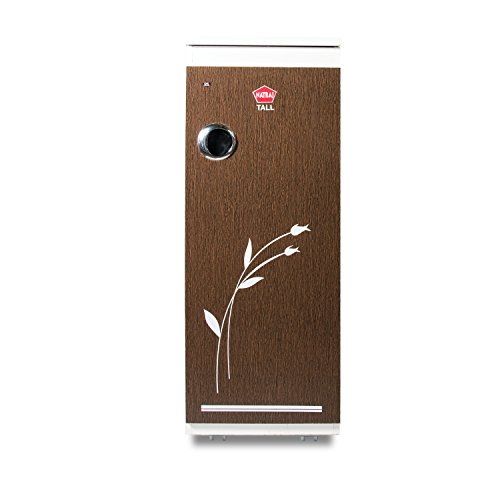 Natraj Tall Automatic Domestic Flourmill (Aata Chakki/Ghar Ghanti) with Easy Clean Feature Brown Matte Finish