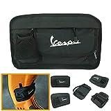 Heinmo motocicleta bolsa de almacenamiento bolsa de tela guantes bolsas para Vespa GTS LX LXV 50 125 250 300