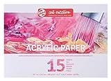 Talens Art Creation–acrylicpapier A4, 290g, 15Hojas, fscm80