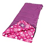 Coleman Kids Plum Fun 45 Degree Sleeping Bag (Pink, Set of 2)