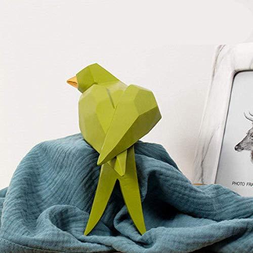Allamp Adornos Decoraciones del Arte del Arte de Origami Golondrina Que Viven gabinete Sala de Porche Estudio de Oficina