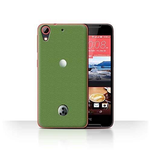 Stuff4 Hülle/Hülle für HTC Desire 628 / Putten Muster/Golfsport-Fan Kollektion