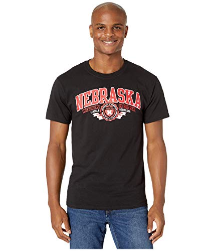 Champion College Nebraska Cornhuskers Jersey Tee Black SM