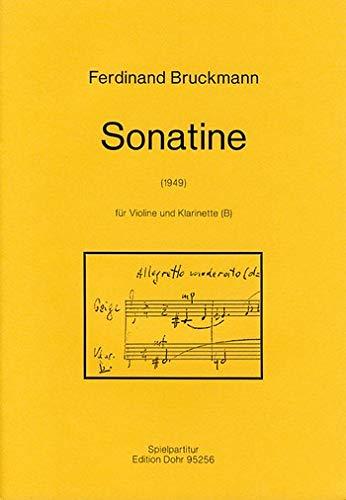 Sonatine : für Violine und Klarinette
