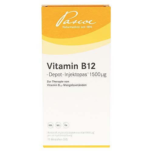VITAMIN B12 Depot Inj. 1500 myg Injektionsl& 10X1 ml