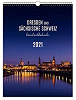 Einschreibkalender Dresden / Saechsische Schweiz 2021 30x40 cm