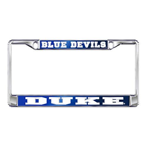 DUKE UNIVERSITY Chrome Blue Devils License Plate Tag Frame