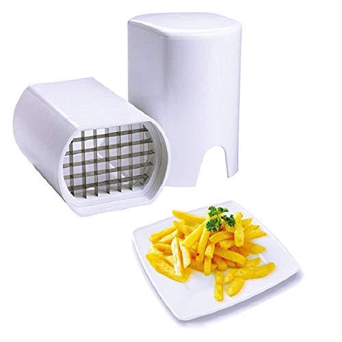 Kylewo Sarto di Patatine Fritte, trita di Patate Trito di Verdure - Ideale per Patatine Fritte e Pezzi di Mela Attrezzo da Cucina