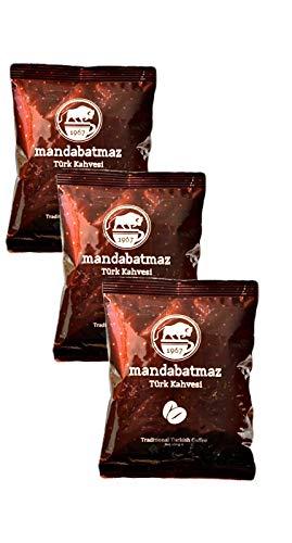 Mandabatmaz - Türkischer Kaffee / Mokka (3x100g Sparpaket)