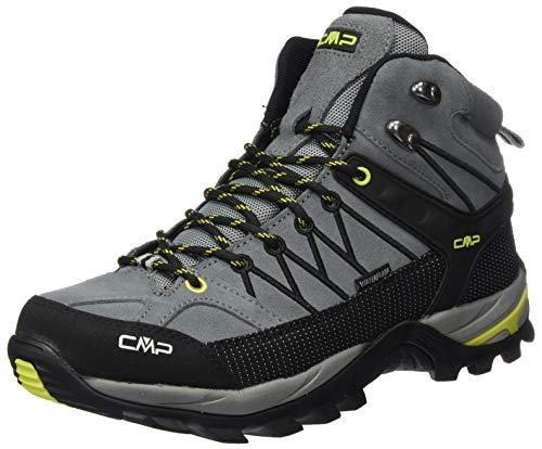 CMP – F.lli Campagnolo Herren Rigel Mid Shoe Wp Trekking- & Wanderstiefel, Grau (Cement-Lime 40TE), 39 EU