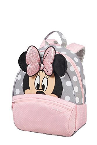 Samsonite Disney Ultimate 2.0 Children'S Zaino 28.5 x 23.5 x 13.5 cm, 7 L, Multicolore (Minnie Glitter)