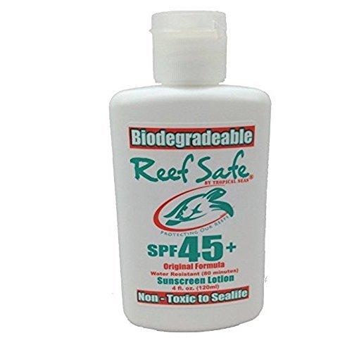 Reef safe Biodegradable Sunscreen Lotion spf 45+ original formula 4 fl.oz (120ml)