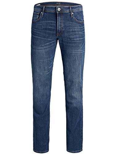JACK & JONES Herren Plus Size Slim Fit Jeans Tim ORIGINAL AM 814 4632Blue Denim