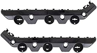 Replacement Pair Set Rear Bumper Side Support Face Bar Brackets Retainer Covers Compatible with 2013-2018 Sentra 852273SH0A 852263SH0A