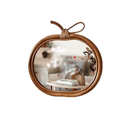 JJZI-L La Creatividad Decorativo Espejo, Espejo de baño Armadura de la Rota Biblioteca de Estilo japonés Corredor Pared...