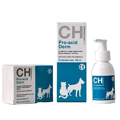 Chemical Pro Acid Derm Evita la caída de Pelo en Perros y Gatos -100 ml