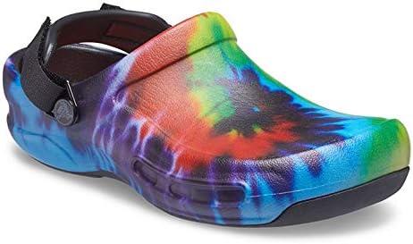 Crocs Men's and Women's Bistro Pro Literide Clog | Slip Resistant Work Shoes