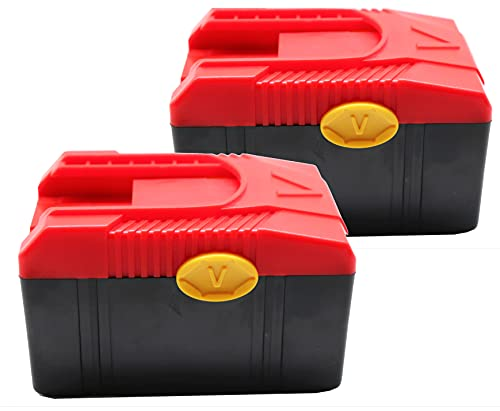 2 Piece 18V 3.0A Battery CTB6187 Compatible with for Snap on CTB6187 CTB6185 CTB4187 CTB4185 Compatible for Snap on 18 Volts Impact Wrench Battery Replacement Battery for Charger CTC620 US