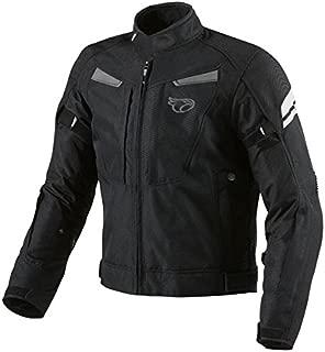 XS, Gr/ün BOS Motorradjacke Herren Mit Protektoren Textil