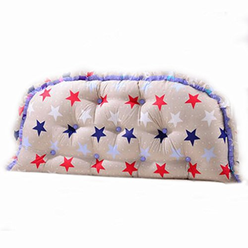 XXT-kussen Zuiver katoenen sofa kussen Zachte kussens Uitneembare en wasbare kussens Dubbele lange kussens op het bed B