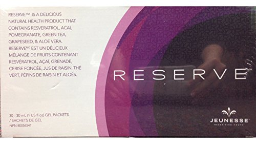 Pack of 10 Jeunesse ReserveTM 30 Gel packets per box (1 OZ) by Reserve