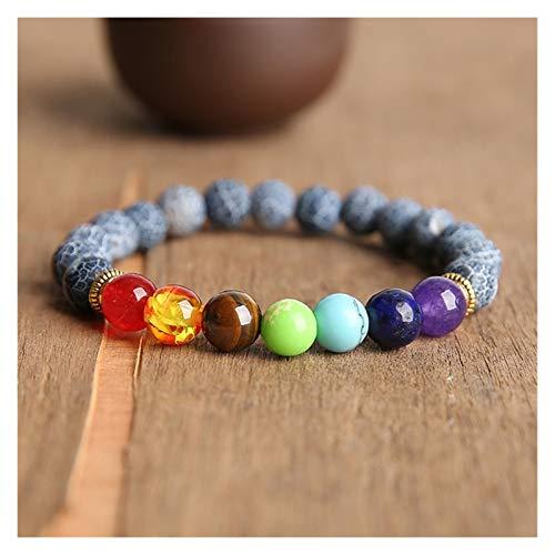 HUIJUNWENTI Prayer Beads Bodhi Bracelets Men Meditation Mala Crystal Beads Bracelets Jewelry Prayer Chakras Tibetan Bracelet (Color : 23cm, Size : 16)