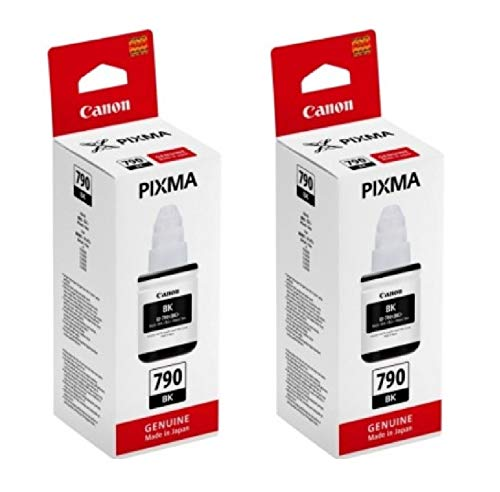 Canon Gi 790 Black Twin Pack Ink Bottle – Set of 2