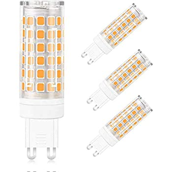 MENGS 4 Pack de Bombilla LED G9 12W Lámpara LED Bombilla Blanco ...
