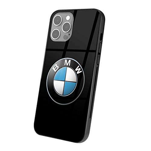 BMW_Logo Phone Case,2021 iPhone 12 Anti-Scratch Slim Fashion Custom Cover Cases for,Compatible with Anti-Collision Case,TPU+Glass Material Case for (iPhone 12 Pro)